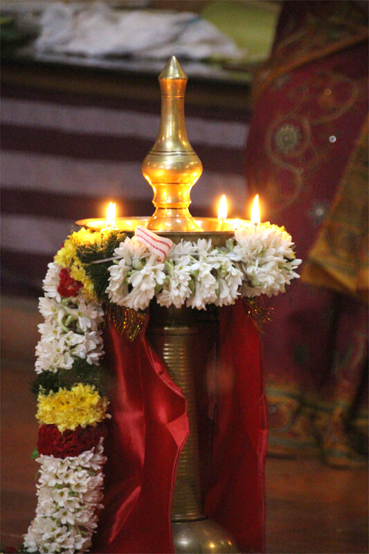 Pooja lamp